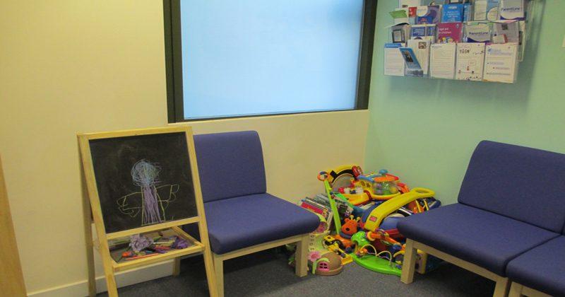 Dumbarton waiting room