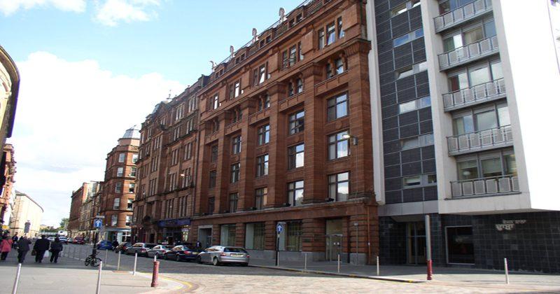 Exterior of Bell Street, Glasgow
