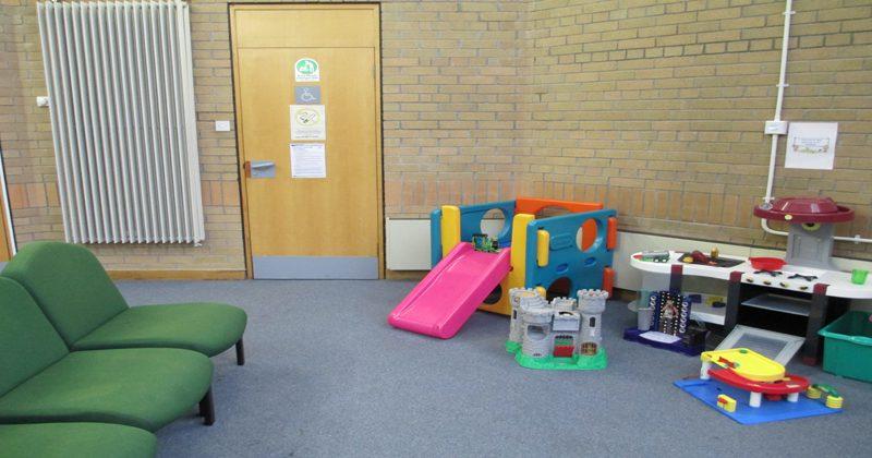 Greenock waiting area