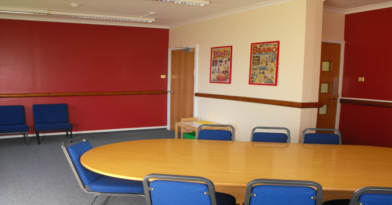 Lochgilphead Hearing room