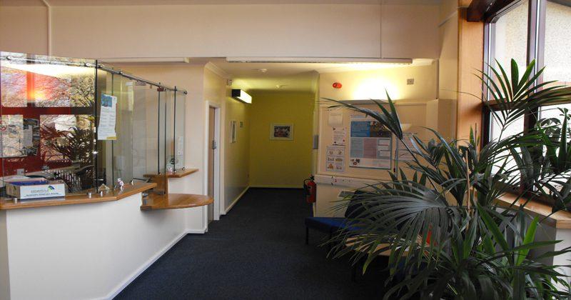 Lochgiplhead reception area