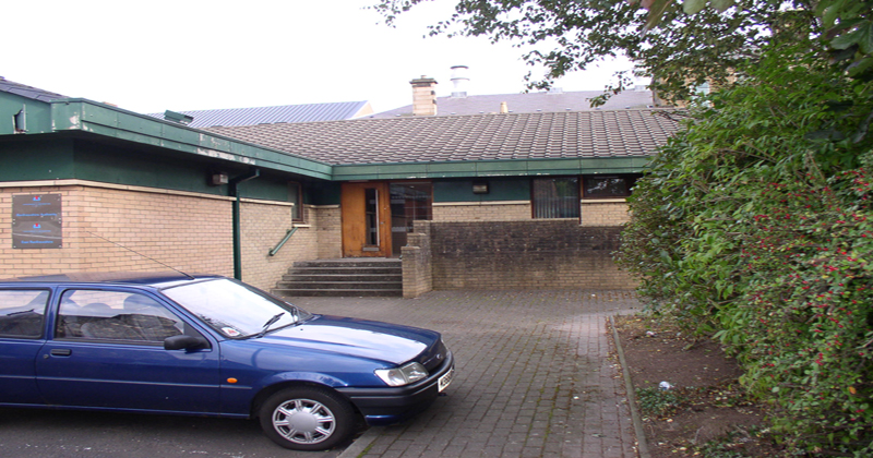 Exterior of Paisley Hearing Centre