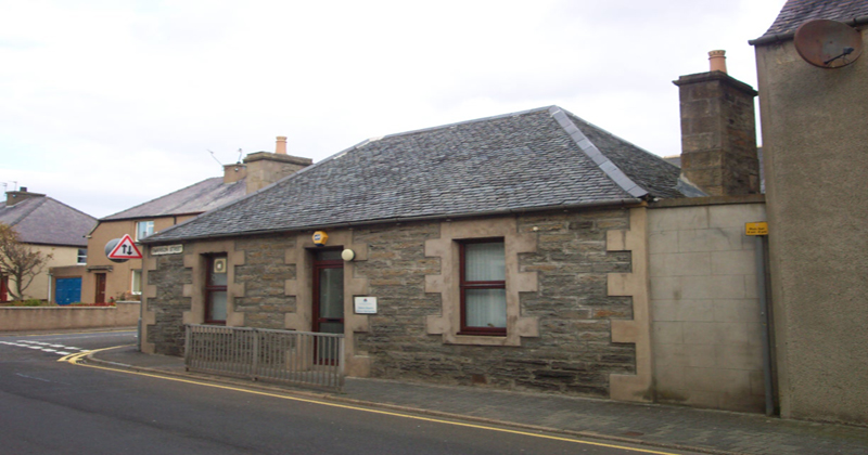 Exterior of Thurso Hearing centre