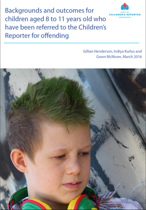Background and outcomes for children aged 8-11 years old