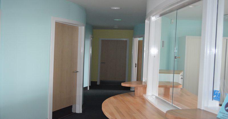 Stornoway reception area