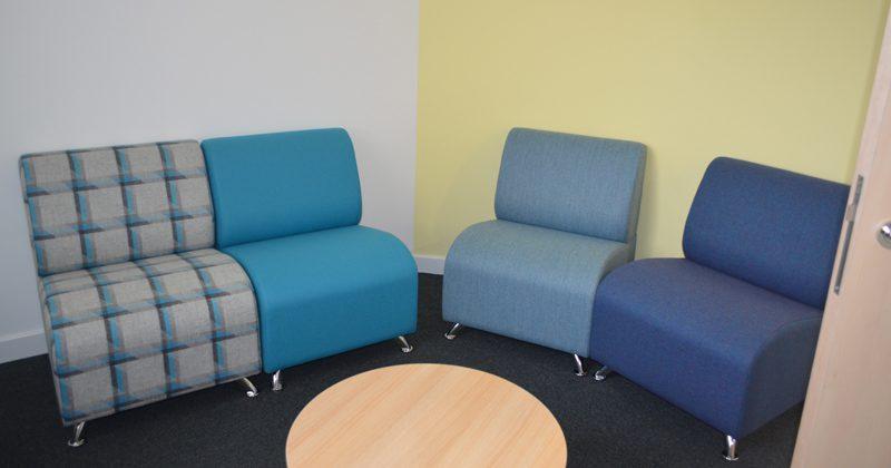 Inside Stornoway waiting room