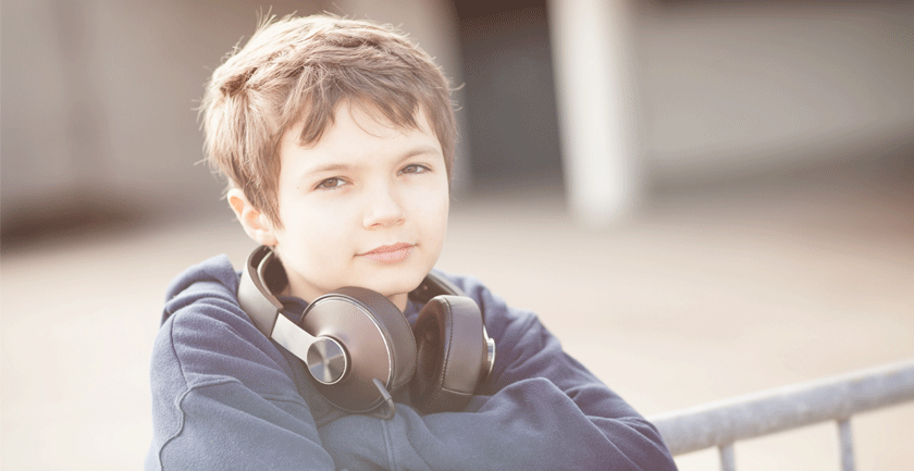 Young-boy-with-headphones