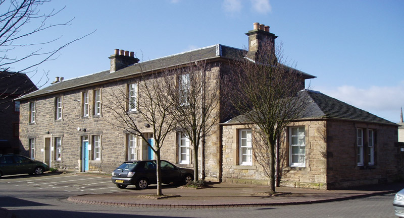 Exterior of Dalkeith Hearing centre