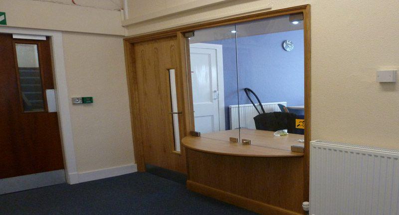 Fraserburgh reception area