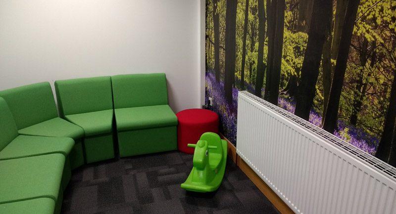 Kilmarnock waiting room