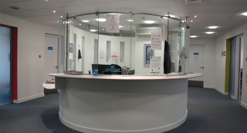 Aberdeen reception area