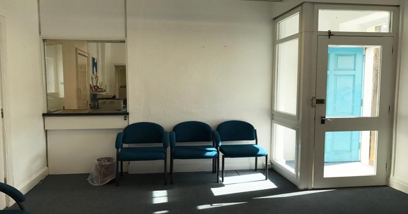 Dalkeith reception area