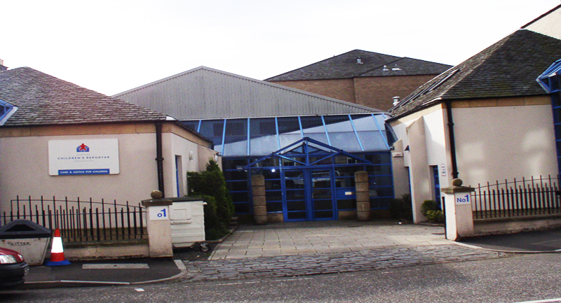 Exterior of Edinburgh Hearing centre