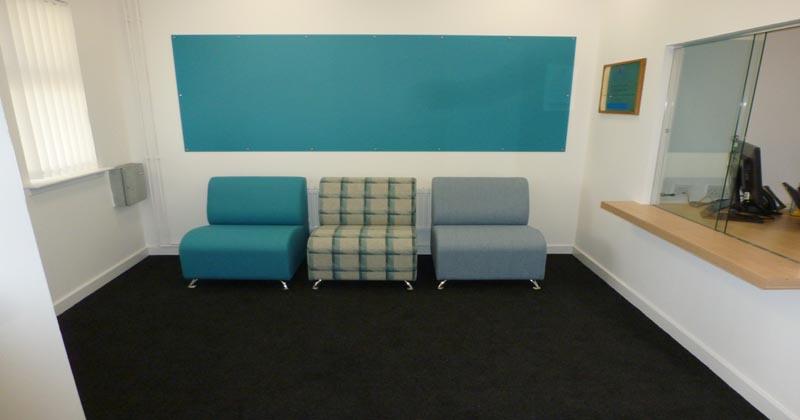 Tranent reception area