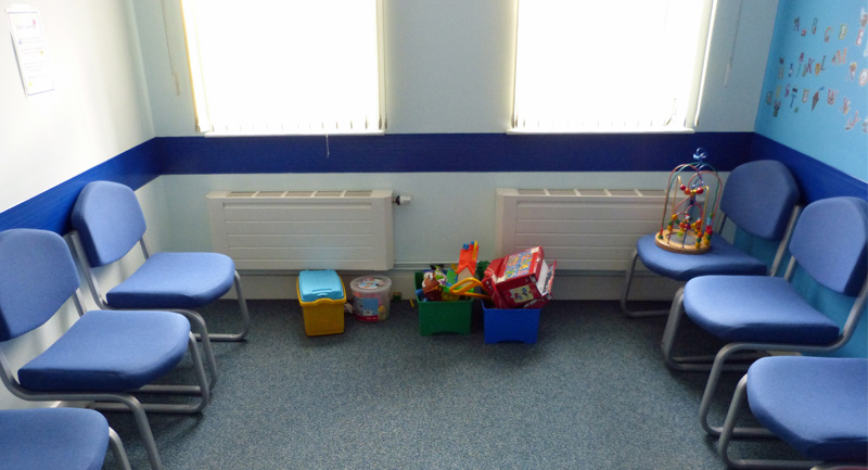 Arbroath waiting room