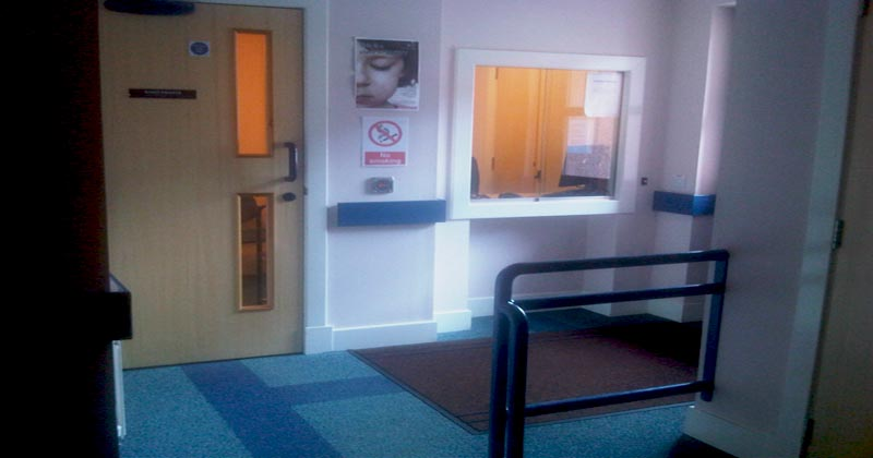 Reception area Arbroath