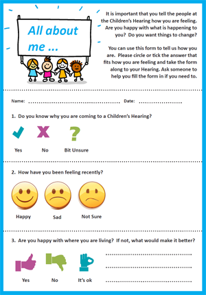 All About Me – Children