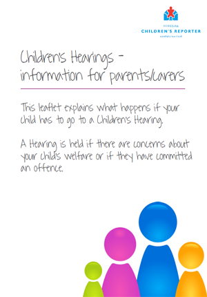 Children's Hearings – information for parents/carers