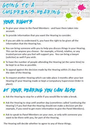 Your Rights Leaflet