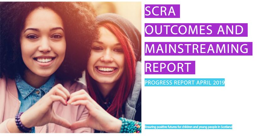 Equalities Outcomes progress and mainstreaming report