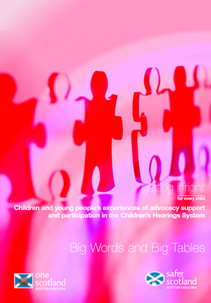 Big Words and Big Tables