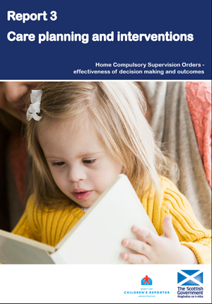CSOs Report 3 – Care planning and interventions