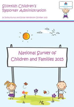 SCRA's Children and Families Survey 2015