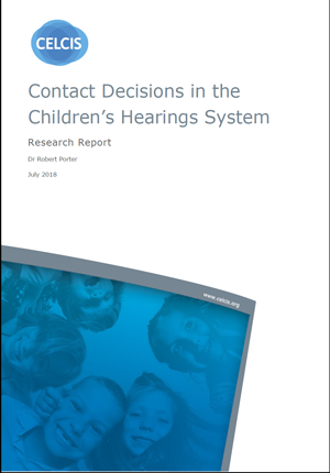 Contact Decisions in the Children's Hearings System