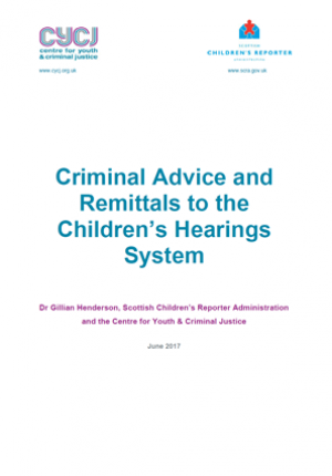 Criminal Advice and Remittals to the Children's Hearings System