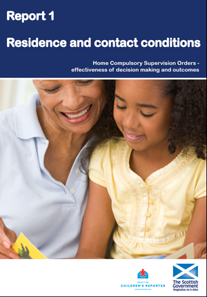 CSOs Report 1 – Residence and contact conditions