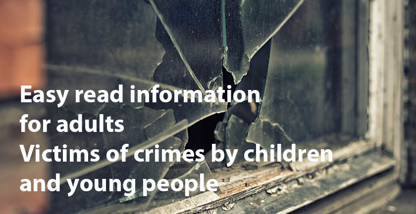 Victims of Youth Crime – Easy Read