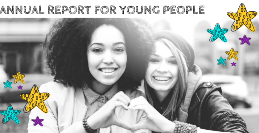 Annual Report for Young People