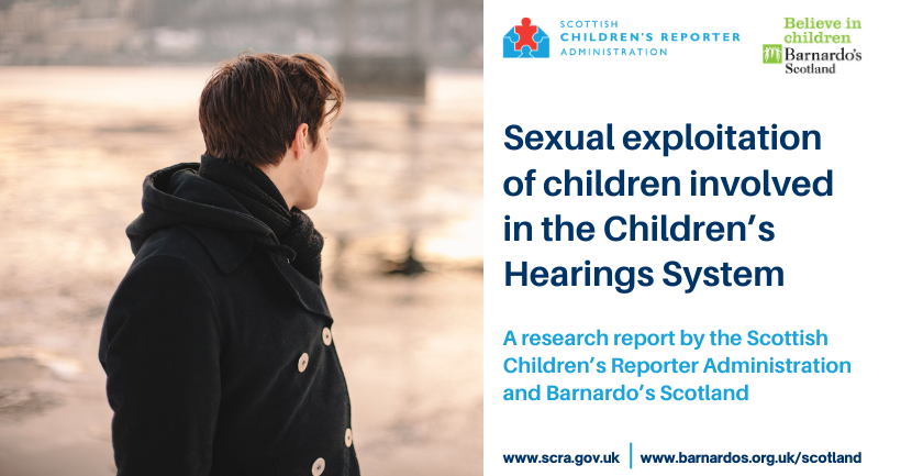 Sexual exploitation of children involved in the Children's Hearings System'