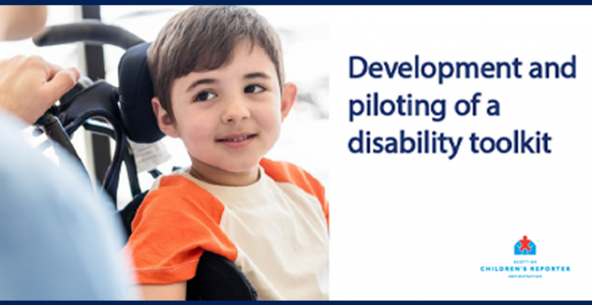 Development and Piloting of a Children's Disability Toolkit